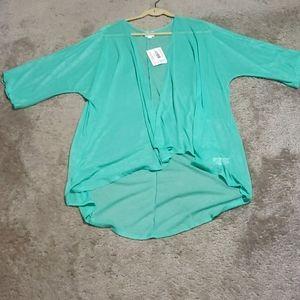 LulaRoe Lindsay Kimono Cardigan Size L